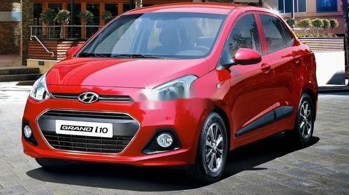 Bán Hyundai Grand i10 năm sản xuất 2019, màu đỏ, số sàn (7)