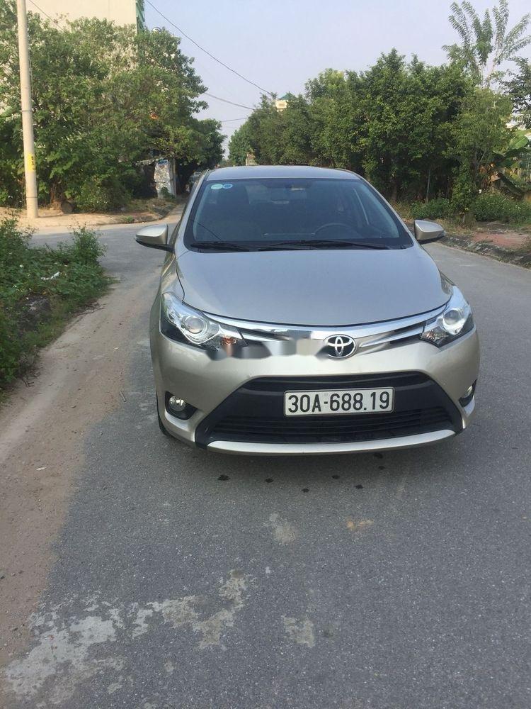 Bán ô tô Toyota Vios 2015, 460tr xe nguyên bản (1)