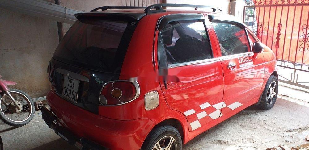 Cần bán Daewoo Matiz sản xuất năm 2004, màu đỏ, xe nhập (6)