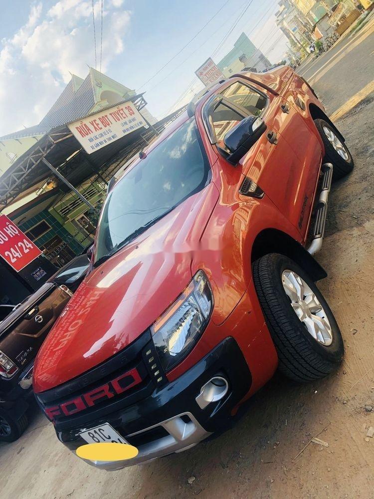 Cần bán lại xe Ford Ranger đời 2015, màu đỏ, nhập khẩu nguyên chiếc chính hãng (2)