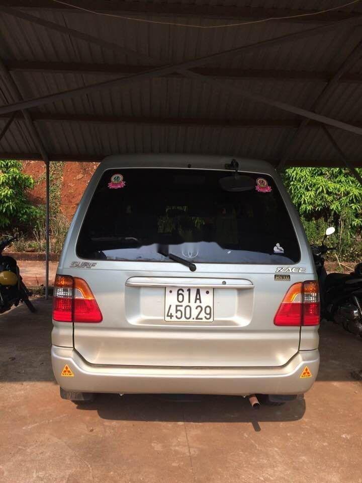 Bán Toyota Zace đời 2005, màu bạc, xe cũ (4)