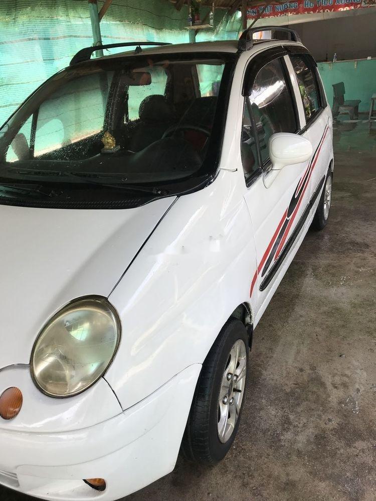 Bán xe Daewoo Matiz năm 2003, màu trắng xe gia đình, 59.5tr xe nguyên bản (10)