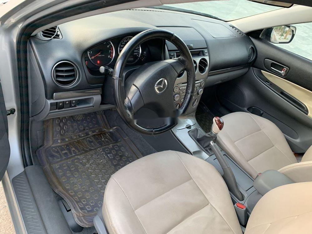 Cần bán xe Mazda 6 2003, màu bạc xe gia đình, giá tốt (3)