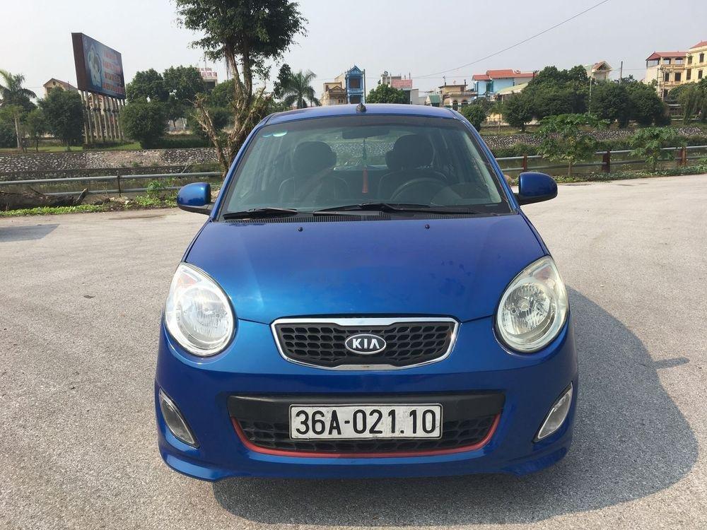 Bán Kia Morning đời 2011, màu xanh lam, nhập khẩu   (1)
