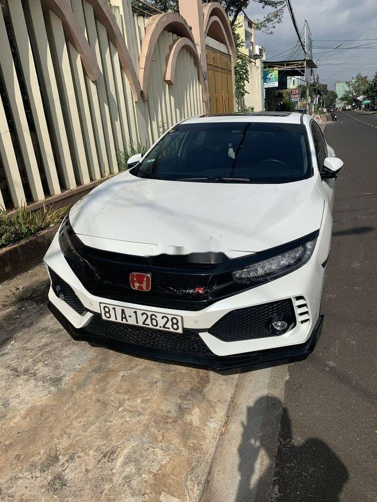 Bán Honda Civic đời 2017, màu trắng, nhập khẩu   (3)