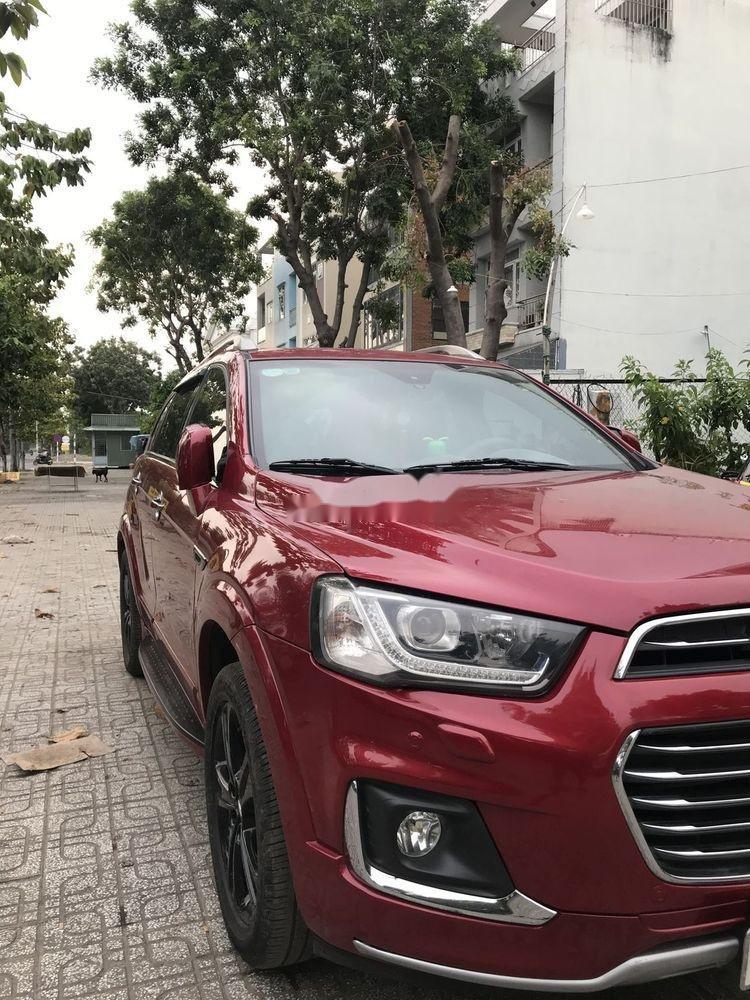 Bán Chevrolet Captiva sản xuất 2017, màu đỏ, 590 triệu (6)