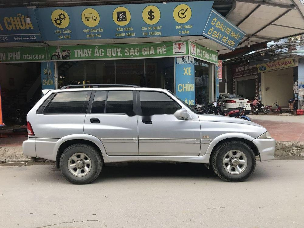 Bán ô tô Ssangyong Musso đời 2005, xe nhập chính hãng (2)