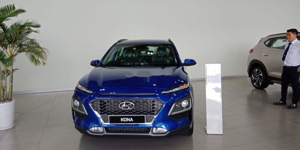 Bán Hyundai Kona sản xuất năm 2019, màu xanh lam, nhập khẩu   (1)