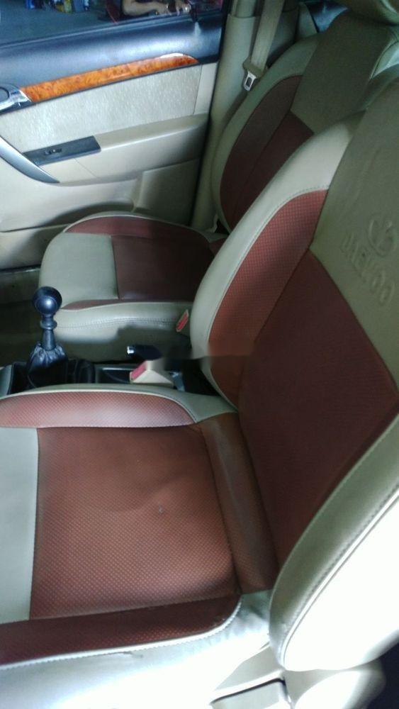 Cần bán lại xe Daewoo Gentra đời 2009, màu bạc chính chủ xe nguyên bản (2)