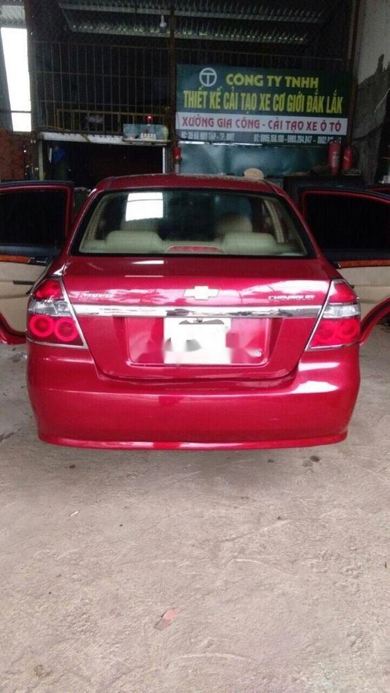 Bán xe Chevrolet Aveo sản xuất 2012, màu đỏ, giá tốt (3)