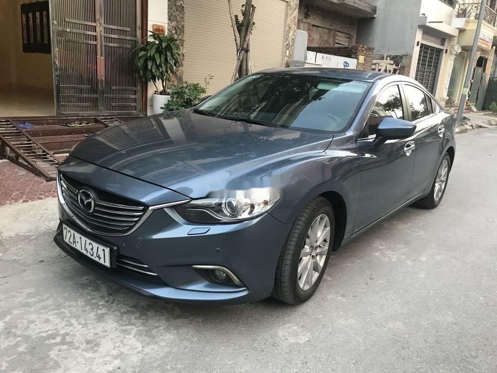 Cần bán lại xe Mazda 6 đời 2015, màu xanh lam chính chủ xe nguyên bản (1)