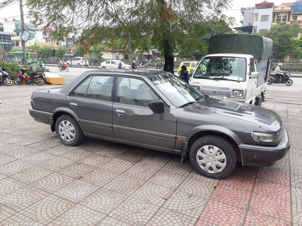 Bán Nissan Bluebird sản xuất 1991, màu xám, nhập khẩu (1)