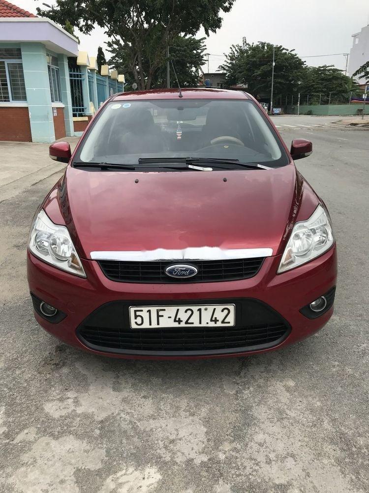 Cần bán lại xe Ford Focus 1.8AT năm sản xuất 2010, màu đỏ chính chủ, giá tốt (1)