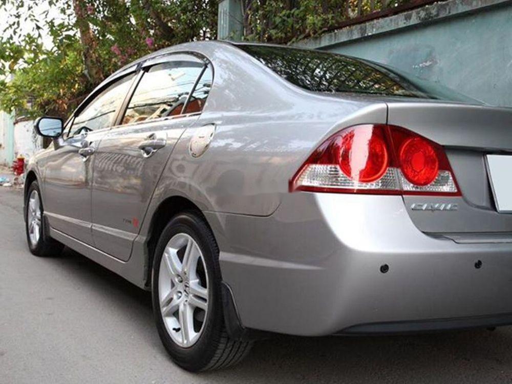 Bán Honda Civic đời 2008, màu xám chính chủ xe nguyên bản (4)