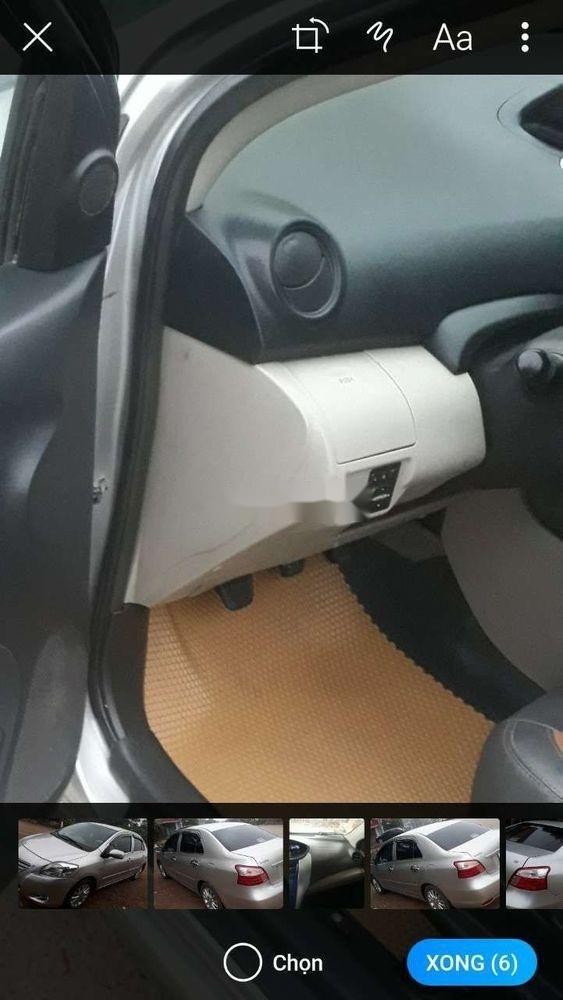 Bán xe Toyota Vios sản xuất 2013, màu bạc xe nguyên bản (3)