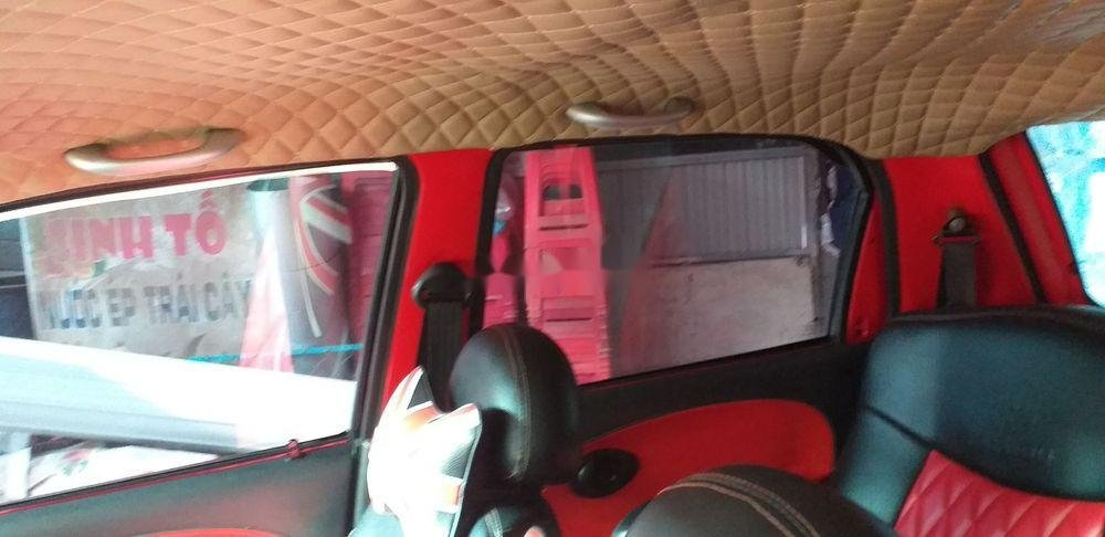 Cần bán Daewoo Matiz sản xuất năm 2004, màu đỏ, xe nhập (3)