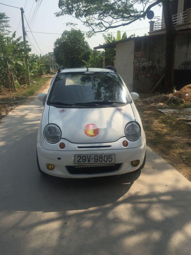 Bán Daewoo Matiz đời 2004, màu trắng, xe đẹp (1)