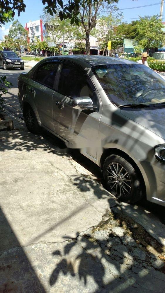 Cần bán lại xe Daewoo Gentra đời 2009, màu bạc chính chủ xe nguyên bản (1)