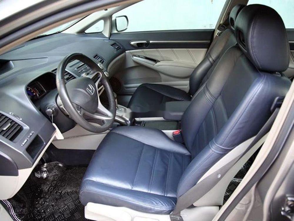 Bán Honda Civic đời 2008, màu xám chính chủ xe nguyên bản (5)