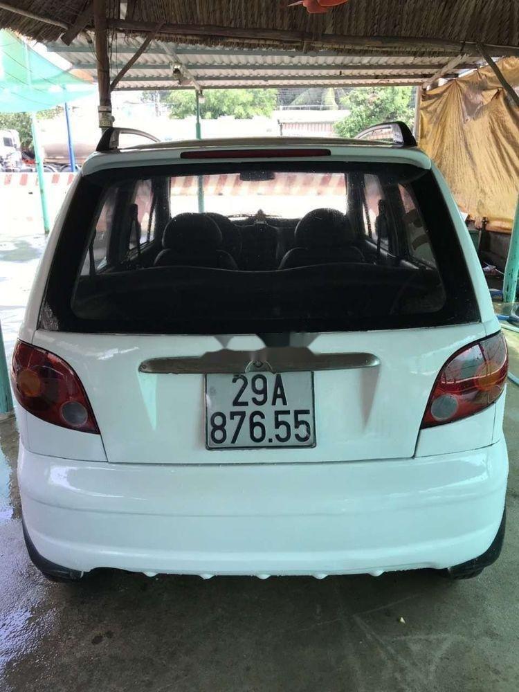 Cần bán gấp Daewoo Matiz sản xuất 2003, màu trắng xe gia đình, giá 59.5tr xe nguyên bản (7)