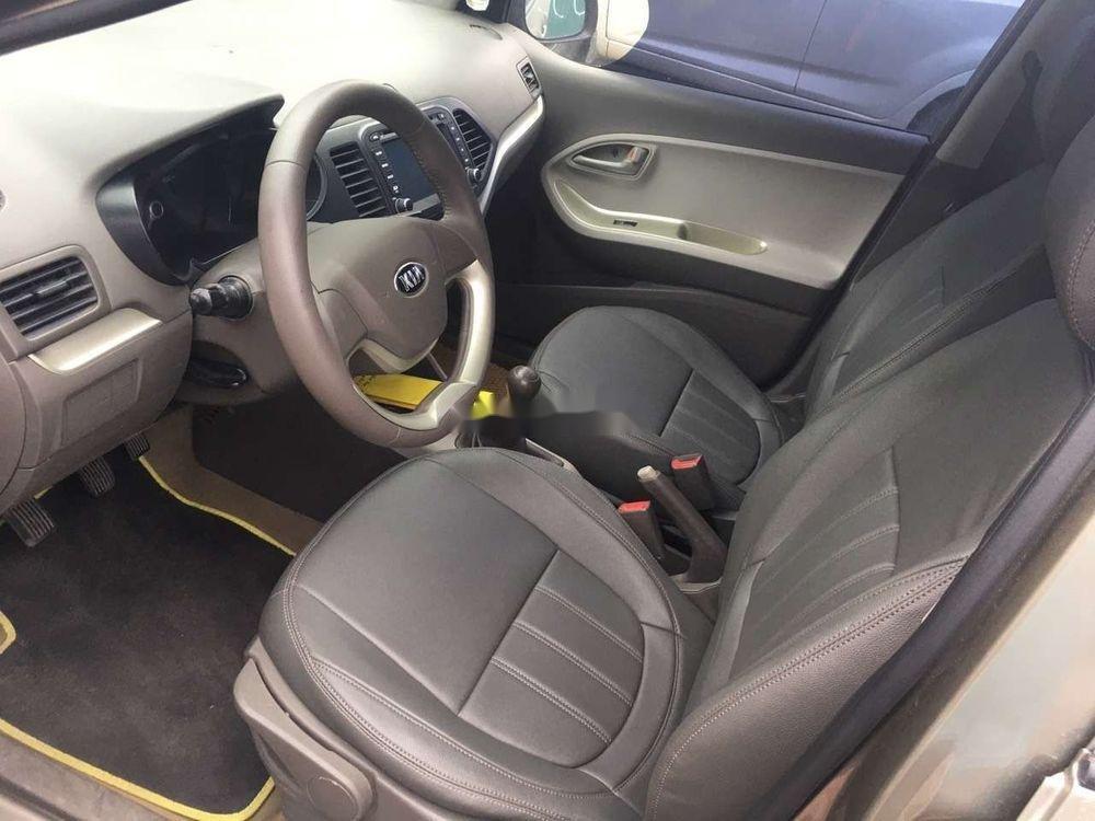 Bán Kia Morning sản xuất năm 2015, màu nâu xe gia đình, giá 232tr xe nguyên bản (4)