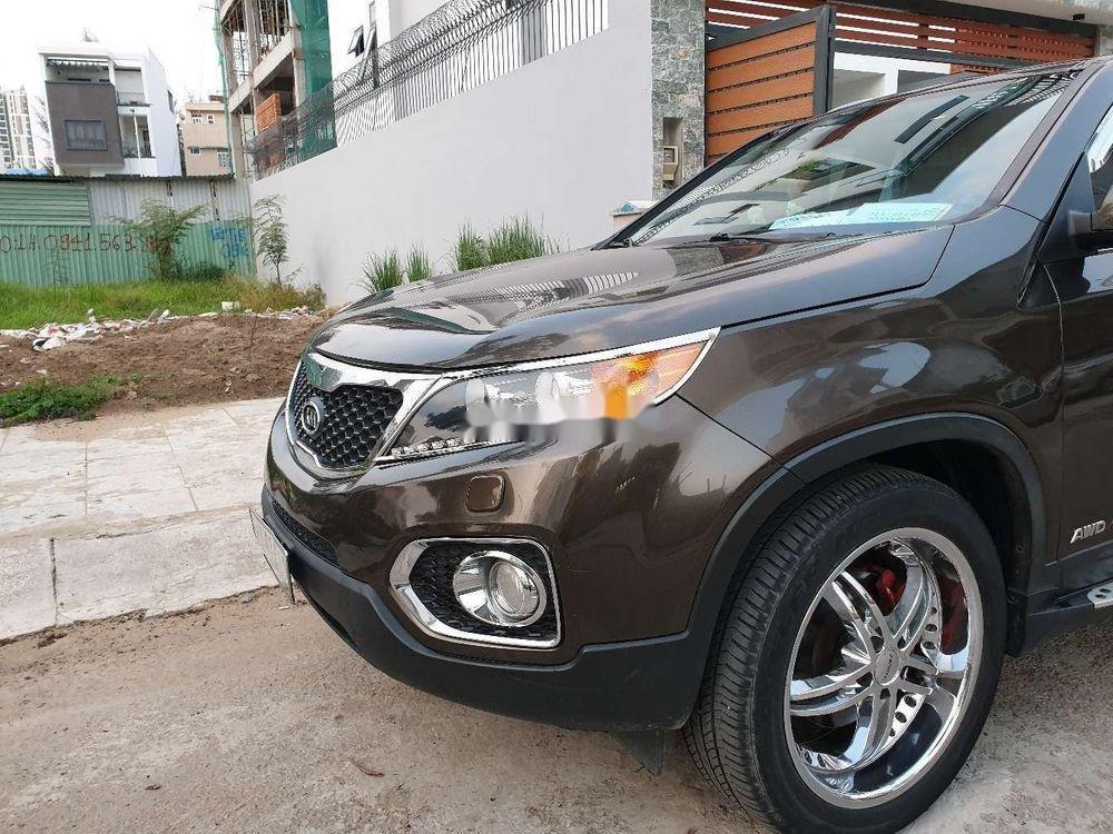 Bán Kia Sorento đời 2013, màu nâu, nhập khẩu chính chủ, giá chỉ 580 triệu xe nguyên bản (2)
