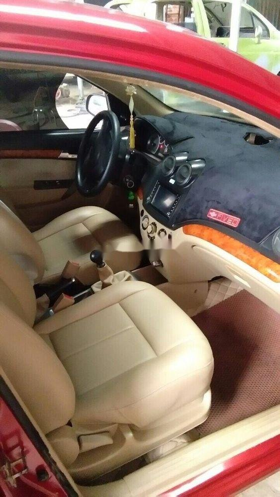 Bán xe Chevrolet Aveo sản xuất 2012, màu đỏ, giá tốt (4)