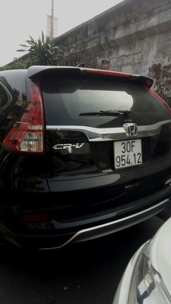 Bán Honda CR V năm sản xuất 2015, màu đen còn mới (2)