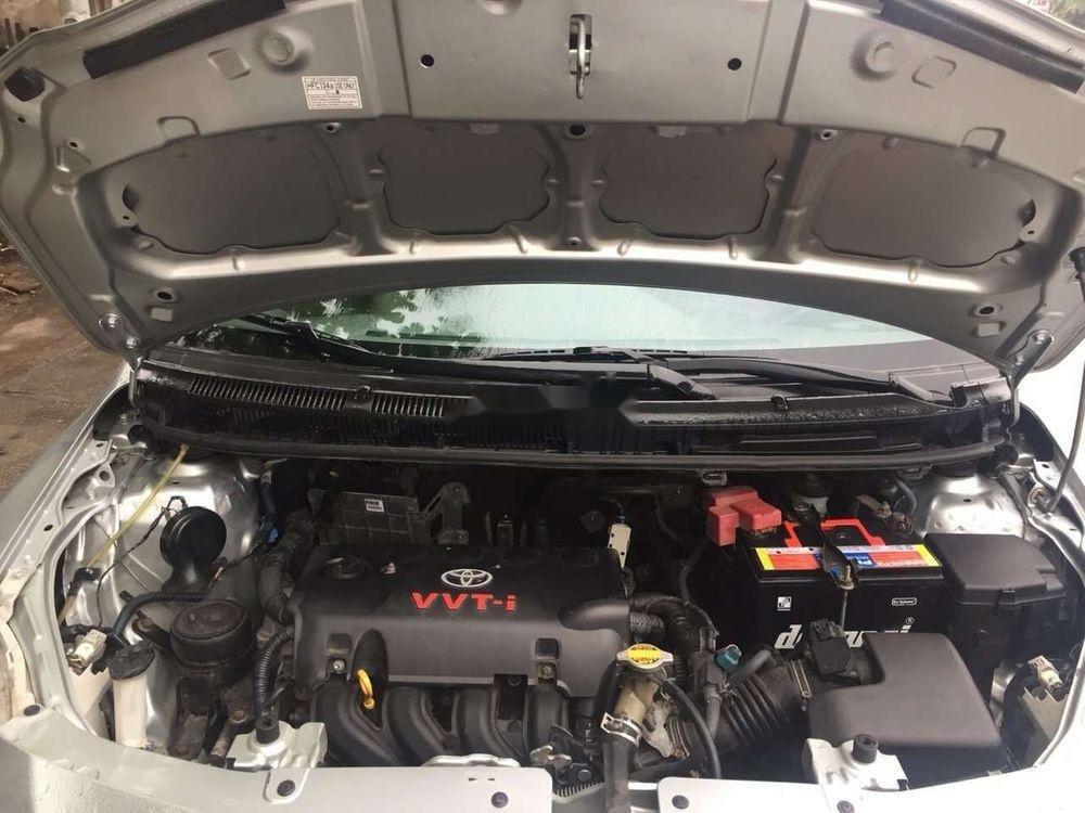 Bán xe Toyota Vios sản xuất 2013, màu bạc xe nguyên bản (2)