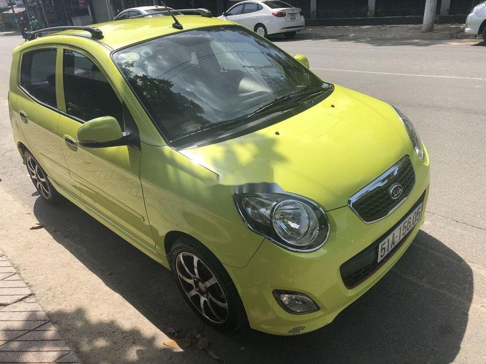 Cần bán xe Kia Morning 2011, màu xanh lục xe nguyên bản (2)