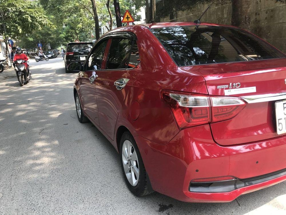 Bán ô tô Hyundai Grand i10 năm 2018, màu đỏ chính chủ xe nguyên bản (8)