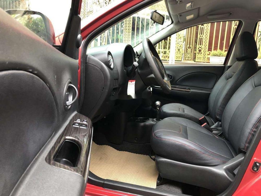 Bán Nissan Micra năm 2011, màu đỏ, nhập khẩu chính hãng (10)