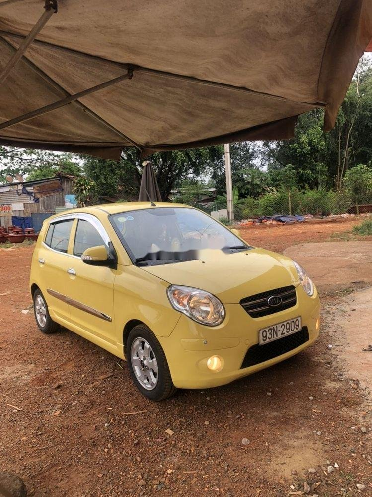 Cần bán Kia Morning năm sản xuất 2010, màu vàng, nhập khẩu chính hãng (1)