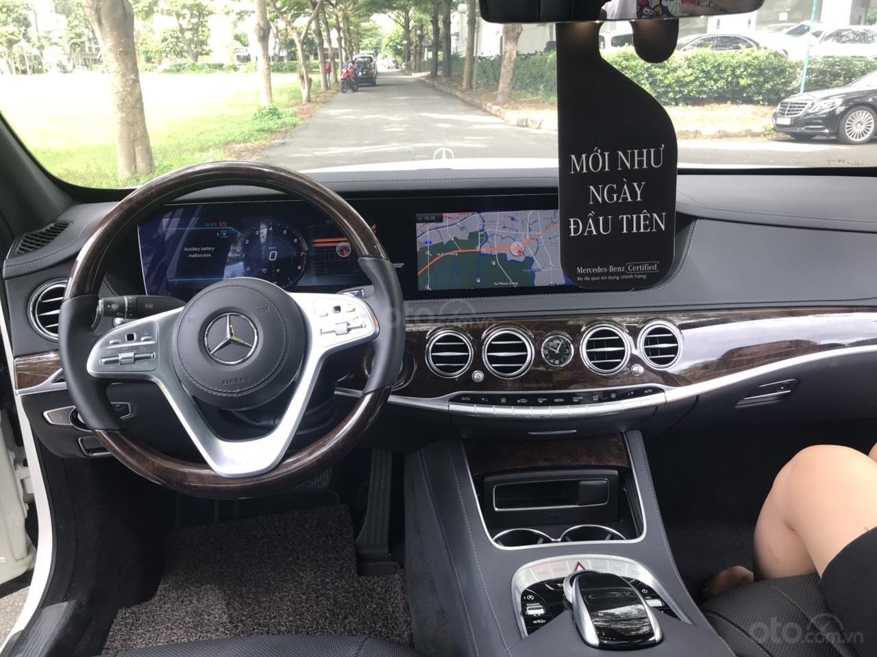 Cần bán Mercedes S450 2017, màu trắng siêu lướt chính hãng còn 3 năm bảo hành (4)