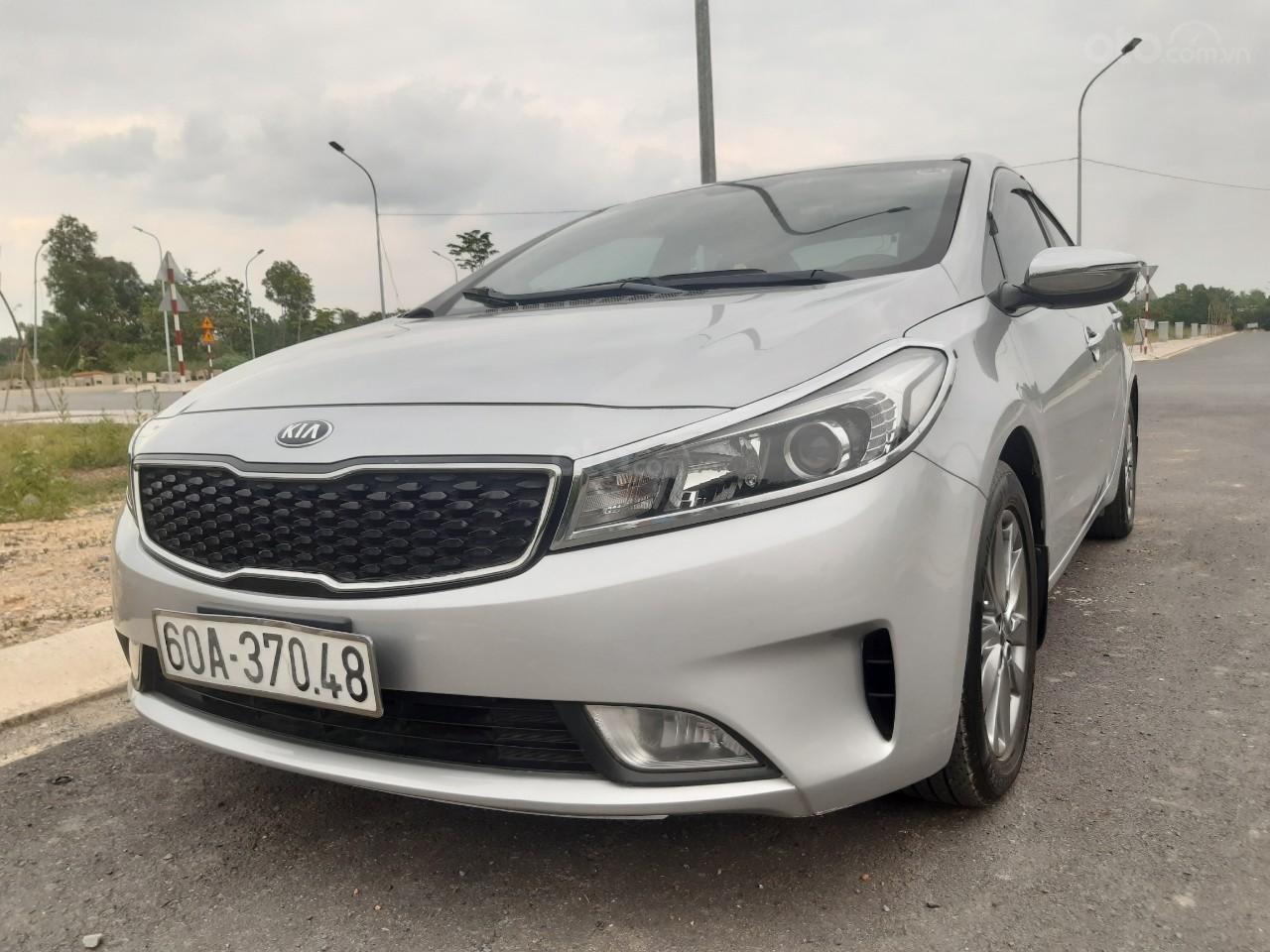 Cần bán Kia Cerato 1.6G sản xuất năm 2017, màu bạc, giá 456tr (1)