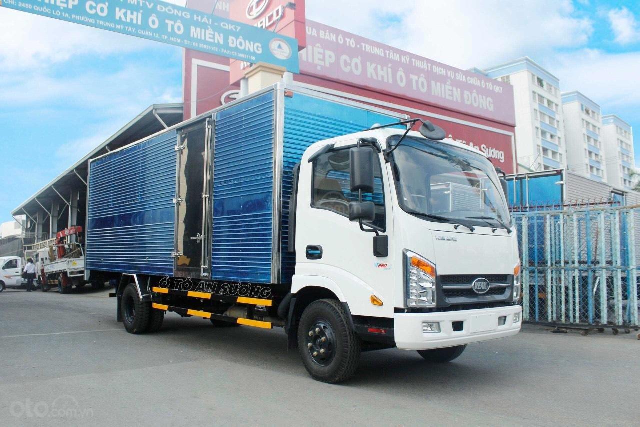 Xe tải Veam VT260 thùng kín 6m1, động cơ Isuzu (1)