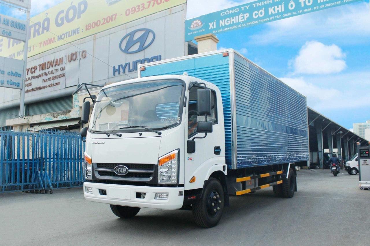 Xe tải Veam VT260 thùng kín 6m1, động cơ Isuzu (3)