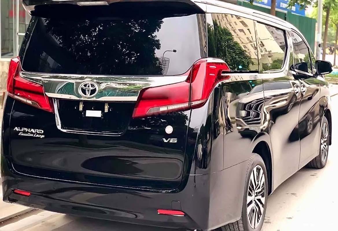 Bán ô tô Toyota Alphard năm sản xuất 2019, màu đen, xe nhập (2)