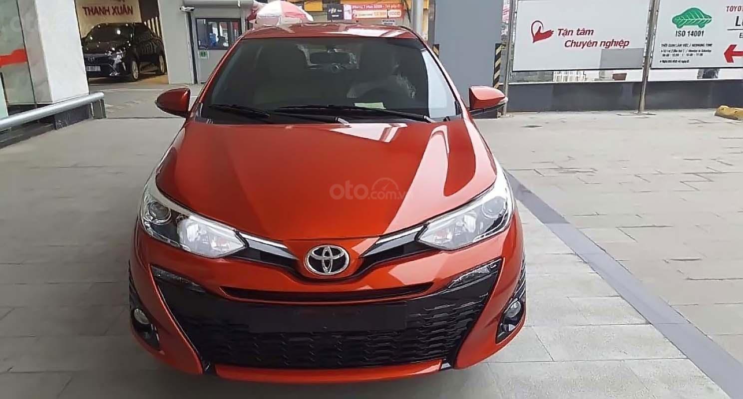 Bán Toyota Yaris 1.5G năm sản xuất 2019, xe nhập, giá 650tr (1)