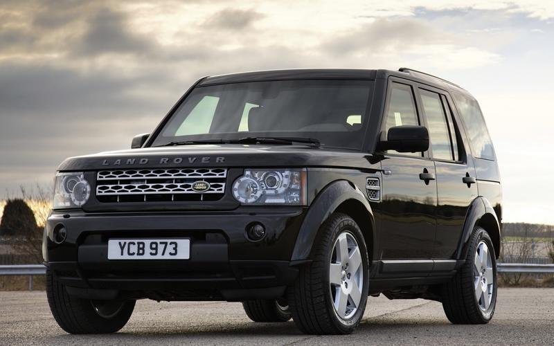Land Rover Discovery 4 Armoured.