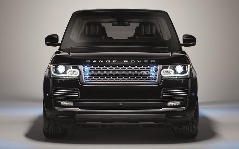 Range Rover Sentinel.