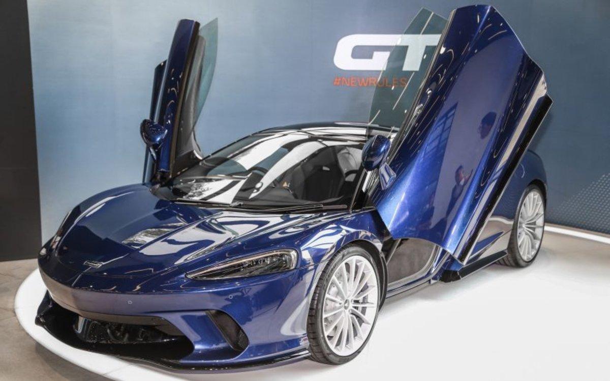 McLaren GT cập bến Malaysia với giá từ 5 tỷ đồng