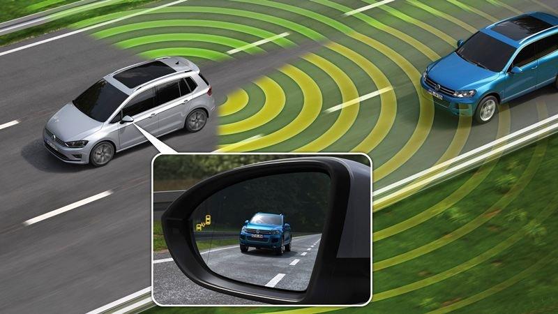 Cảnh báo điểm mù (Blind Spot Monitoring).