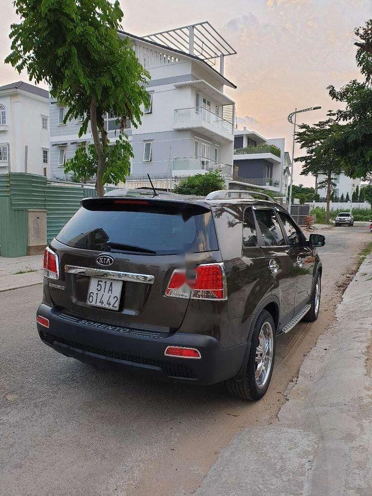 Bán Kia Sorento đời 2013, màu nâu, nhập khẩu chính chủ, giá chỉ 580 triệu xe nguyên bản (1)