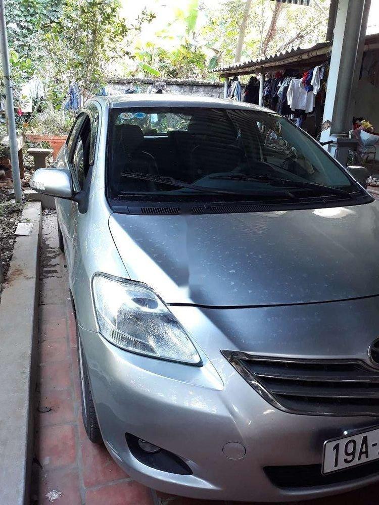 Bán xe Toyota Vios sản xuất 2013, màu bạc xe nguyên bản (1)
