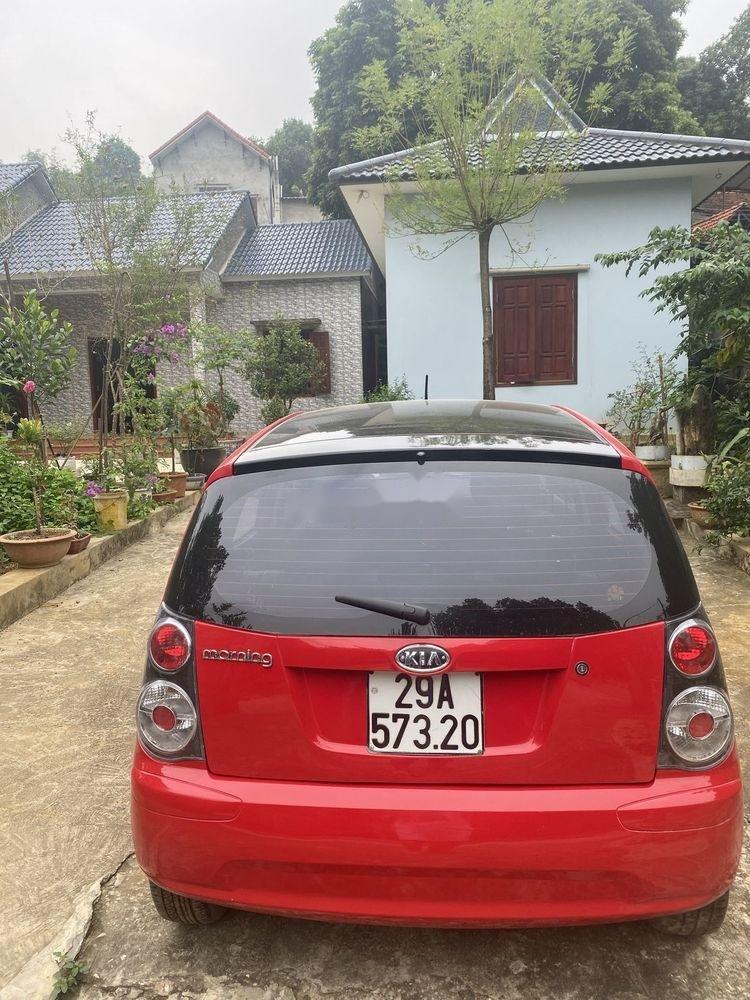 Bán Kia Morning Sport năm 2012, màu đỏ chính chủ giá tốt (4)