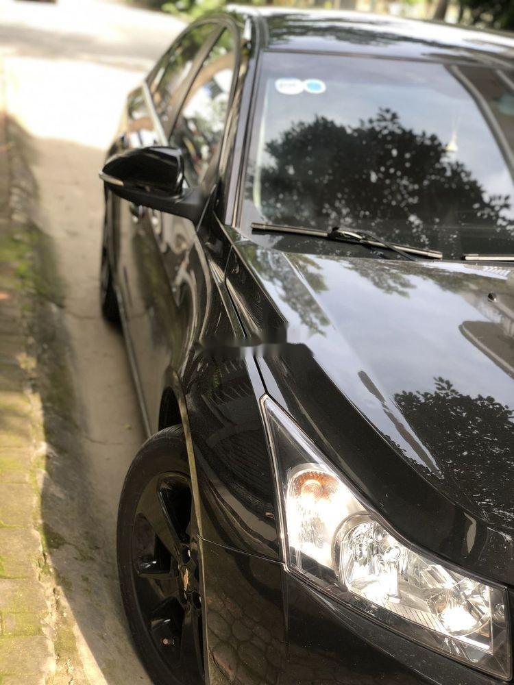 Bán xe Chevrolet Cruze đời 2015, màu đen xe nguyên bản (5)