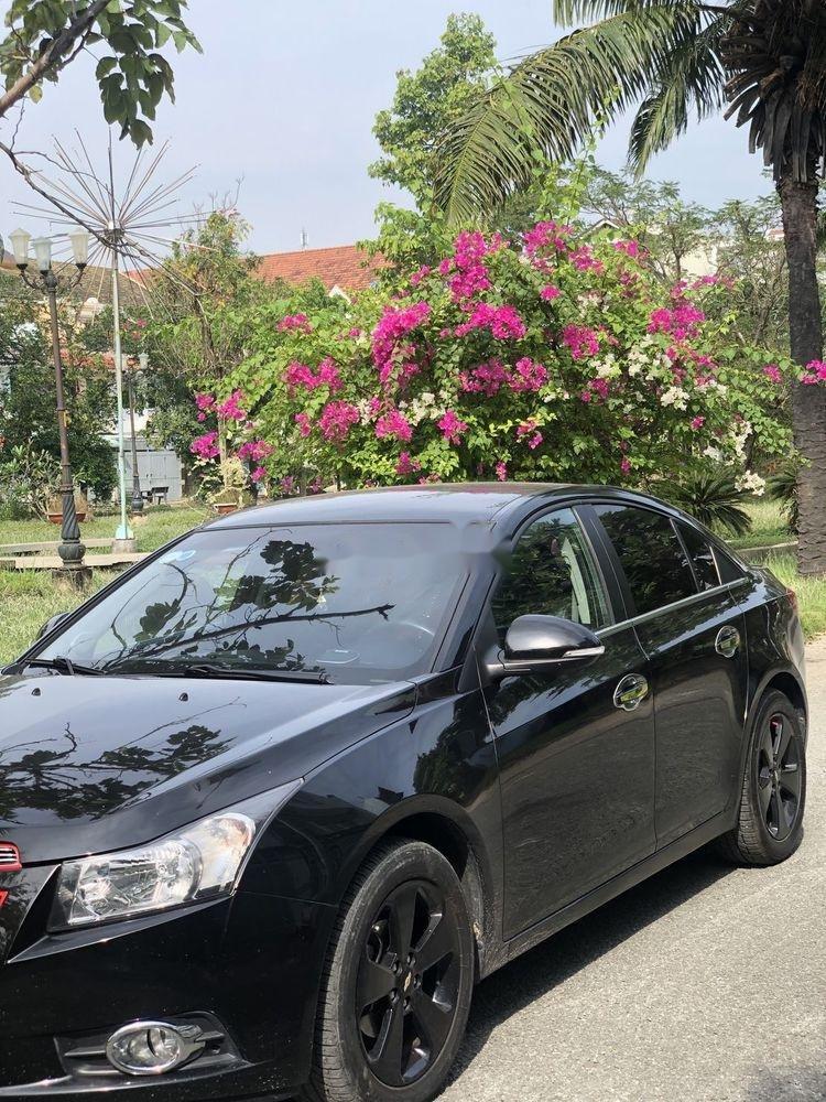Bán xe Chevrolet Cruze đời 2015, màu đen xe nguyên bản (1)