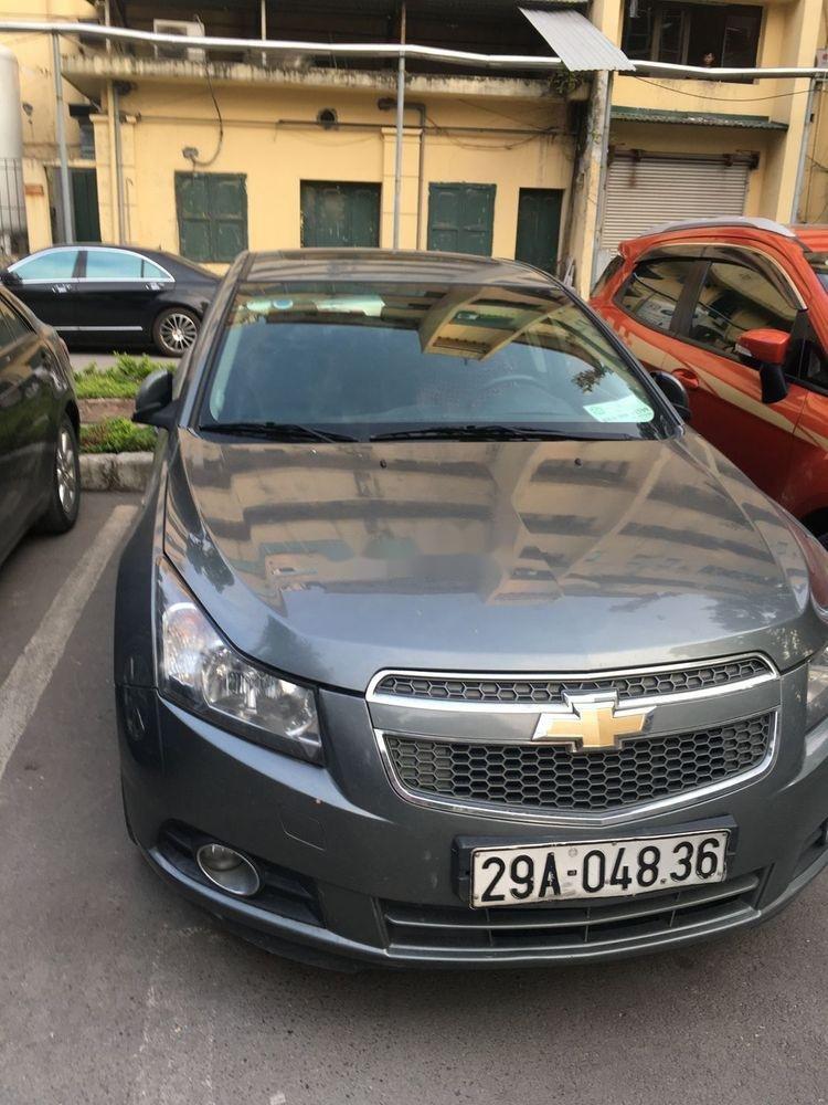 Bán Chevrolet Cruze đời 2010, màu xám chính chủ, giá tốt xe nguyên bản (4)