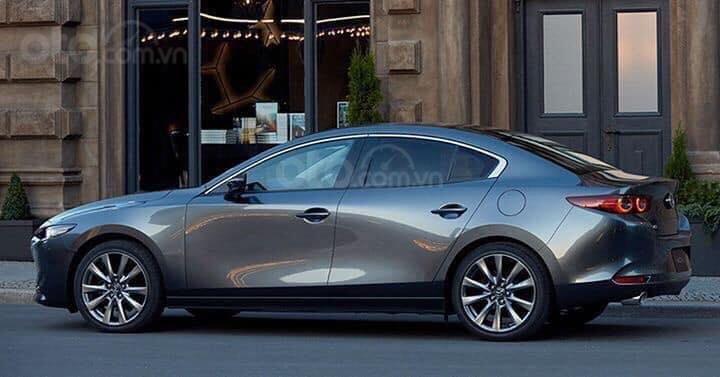 Cần bán xe Mazda 3 đời 2020, màu xanh lam (1)